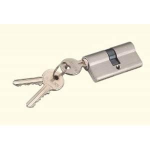Cilindro de embutir con 3 llaves