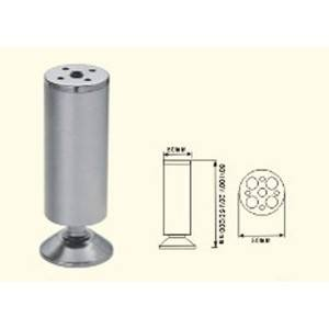 Pie de cama metalico de 100 milímetros