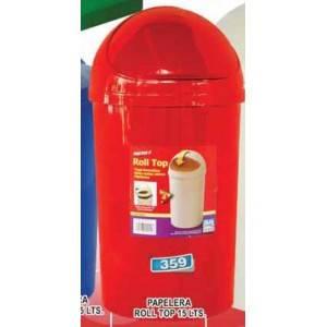 Papelera rolltop 15 litros