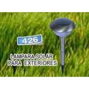 Lampara solar para exteriores