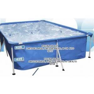 Piscina Splash 400x211x81 cm