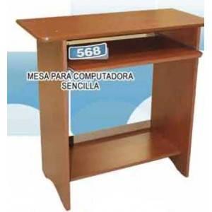 Mesa para computadora sencilla