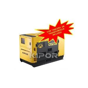 Generador Diesel insonoro 30KVA 3HP 220V