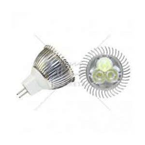 Bombillo dicroico modelo jcdr, 1 led, 3 wattio, 6400K, 110-220V