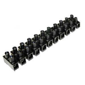 Regletas De Conexión De 12 Pares, 4mm.