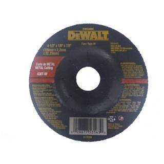 Disco Para Corte de Metal 4 1/2 Marca Dewalt