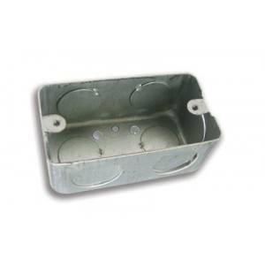 """Caja metalica para empotrar, de 2x4 de 1/2"""""""