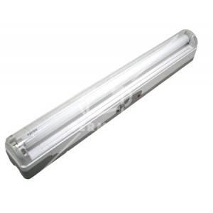 Lámpara de emergencia lineal portátil, 62 centímetro, 1 tubo, de 20 wattios