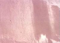 Imagen de brillo desigual en una pintura aplicada