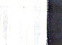 Imagen de marcas de brocha en la aplicacion de las pinturas